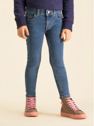 Calvin Klein Jeans Jeansy Mr Ess Fresh IG0IG00367 Tmavomodrá Super Skinny Fit dámské 8