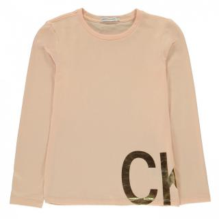 Calvin Klein Jeans Long Sleeve T Shirt dámské Other 9-10 Y
