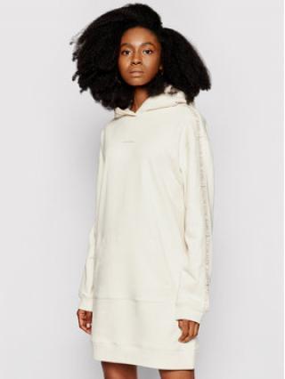 Calvin Klein Jeans Úpletové šaty J20J216348 Béžová Regular Fit dámské XL