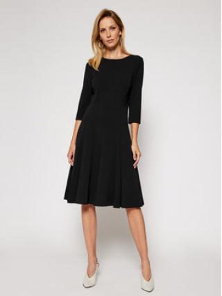Calvin Klein Koktejlové šaty Scuba K20K202418 Černá Regular Fit dámské 34