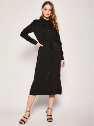 Calvin Klein Košilové šaty Belted K20K201825 Černá Regular Fit dámské 36