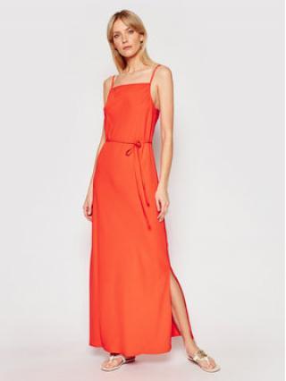 Calvin Klein Letní šaty Cami K20K201839 Oranžová Regular Fit dámské 38