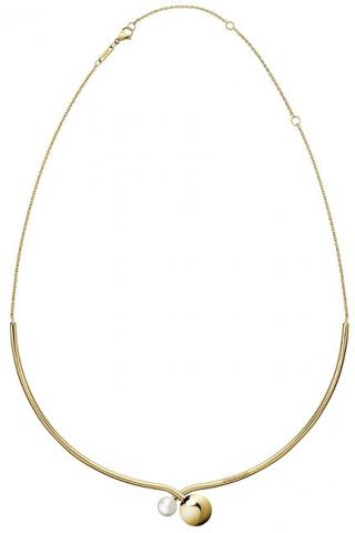 Calvin Klein Luxusní pozlacený náhrdelník Bubbly KJ9RJJ140100