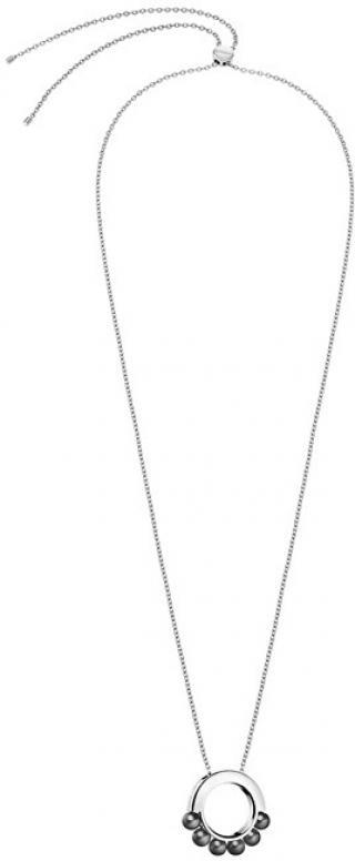 Calvin Klein Ocelový náhrdelník s perličkami Circling KJAKMN040100