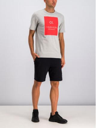 Calvin Klein Performance T-Shirt 00GMS9K221 Šedá Regular Fit pánské L