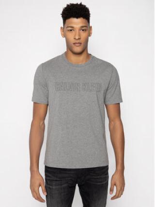 Calvin Klein Performance T-Shirt Logo Print 00GMS0K299 Šedá Regular Fit pánské XL