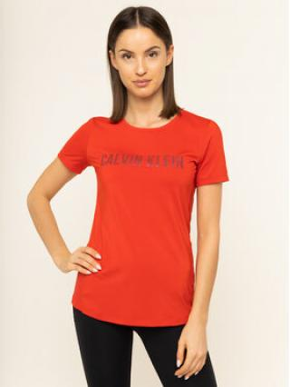 Calvin Klein Performance T-Shirt Short Sleeve 00GWS9K157 Červená Slim Fit dámské XS