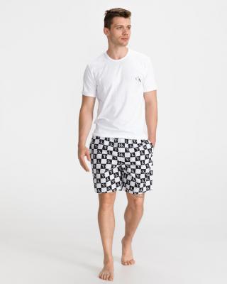 Calvin Klein Pyžamo Černá Bílá pánské L