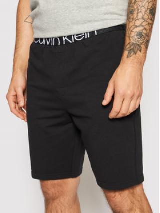 Calvin Klein Pyžamové šortky 000NM2127E Černá Regular Fit pánské S