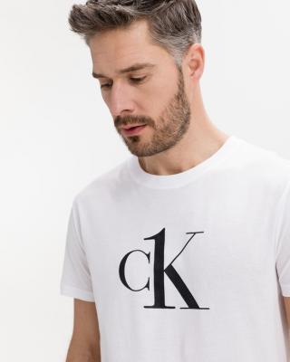Calvin Klein Relaxed Beach Triko Bílá pánské M