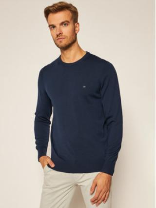 Calvin Klein Svetr Superior Wool K10K102727 Tmavomodrá Regular Fit pánské XXL
