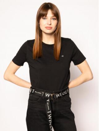 Calvin Klein T-Shirt Embroidered Tee K20K202021 Černá Regular Fit dámské L