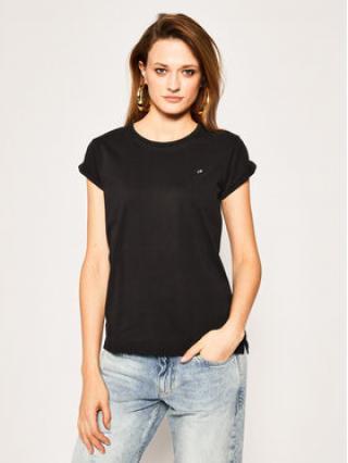 Calvin Klein T-Shirt Turn Up K20K201982 Černá Regular Fit dámské XL