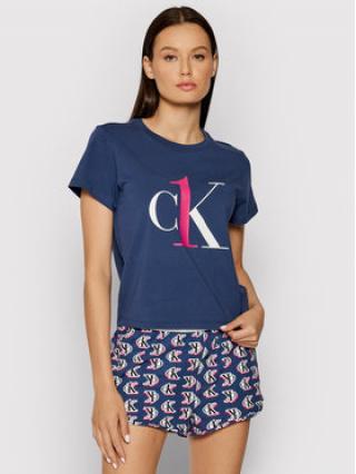Calvin Klein Underwear Pyžamo 000QS6443E Tmavomodrá dámské M