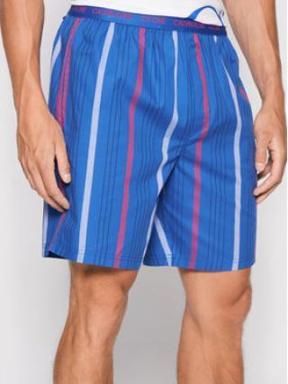 Calvin Klein Underwear Pyžamové kalhoty 000NM1868E Modrá pánské L