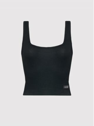 Calvin Klein Underwear Pyžamový top Tank 000QS6648E Černá Slim Fit dámské XS