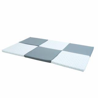 CANDIDE Matrace 5v1 šedo bílá