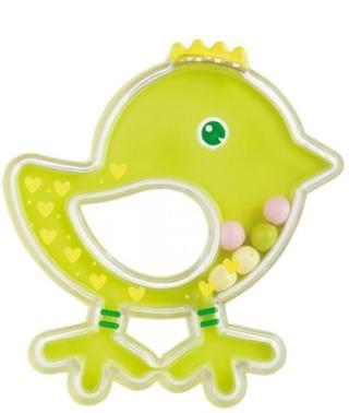 CANPOL BABIES Chrastítko ptáček - zelené zelená