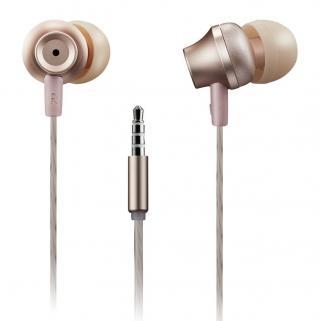 CANYON Stereo sluchátka s mikrofonem kovová rose