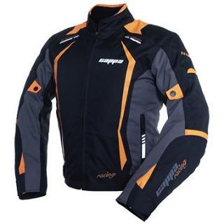 Cappa Racing AREZZO textilní černá/oranžová