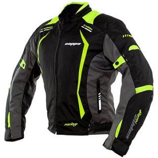 Cappa Racing AREZZO textilní černá/zelená