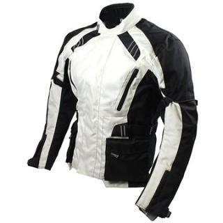 Cappa Racing KISO textilní černá/šedá