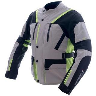 Cappa Racing MELBOURNE textilní šedá/fluo/černá
