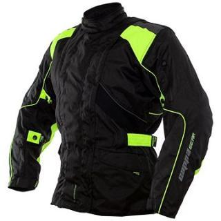 Cappa Racing ROAD textilní černá/zelená