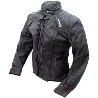 Cappa Racing STRADA textilní černá/růžová