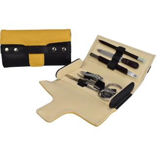Cardinal Unisexs Women Leather Care Kit C231 Black/Yellow dwukolorowy One size