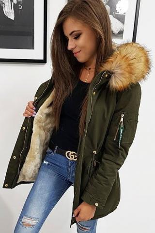 CARMEN womens winter parka jacket, olive TY0878 dámské Neurčeno XXL