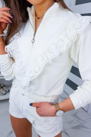 CARMIN II womens sweatshirt ecru BY0337 dámské Neurčeno One size