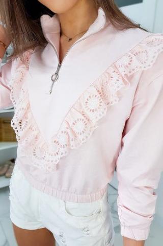 CARMIN II womens sweatshirt pink BY0339 dámské Neurčeno One size