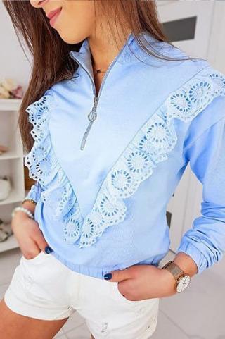 CARMIN II womens sweatshirt sky blue BY0338 dámské Neurčeno One size