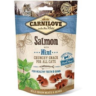 Carnilove cat crunchy snack salmon with mint with fresh meat 50 g
