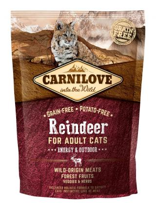 Carnilove Cat Grain Free Reindeer Adult Energy&Outdoor 400g