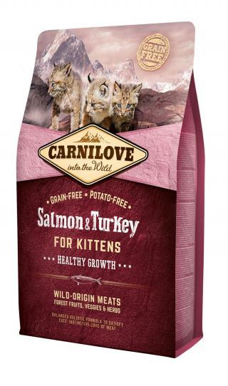 Carnilove Cat Grain Free Salmon&Turkey Kittens Healthy Growth 2kg