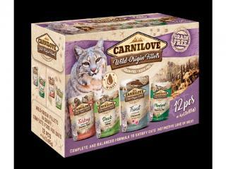 Carnilove cat pouch MULTIPACK