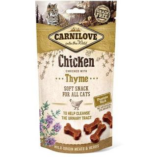 Carnilove cat semi moist snack chicken enriched with thyme 50 g