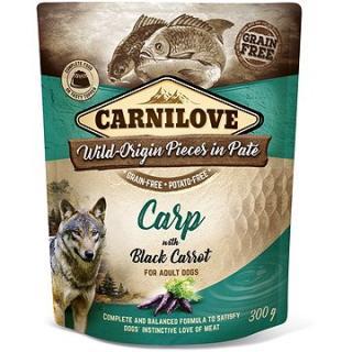Carnilove Dog Pouch Paté Carp with Black Carrot 300 g