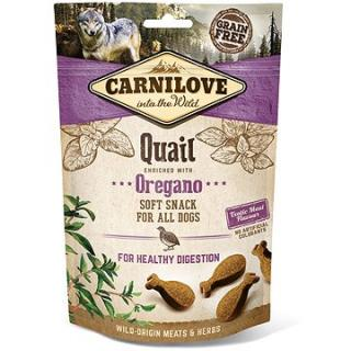 Carnilove dog semi moist snack quail enriched with oregano 200 g