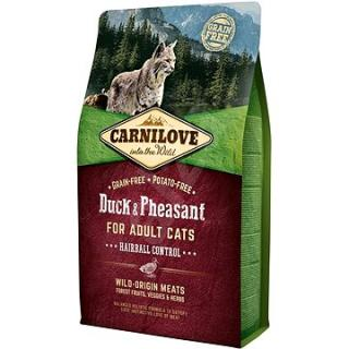 Carnilove duck & pheasant for adult cats – hairball control 2 kg