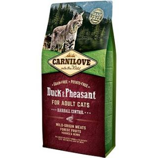 Carnilove duck & pheasant for adult cats – hairball control 6 kg