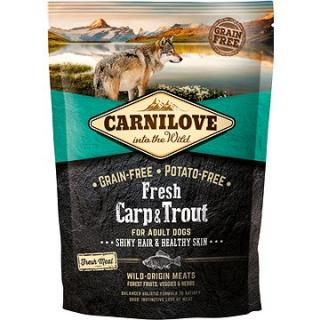 Carnilove fresh carp & trout shiny hair & healthy skin for adult dogs 1,5 kg