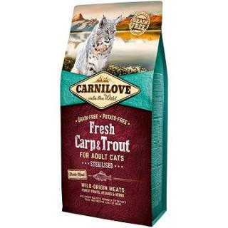 Carnilove fresh carp & trout sterilised for adult cats 6 kg