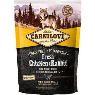 Carnilove fresh chicken & rabbit muscles, bones & joints for adult dogs 1,5 kg