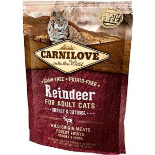 Carnilove reindeer for adult cats – energy & outdoor 400 g