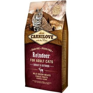 Carnilove reindeer for adult cats – energy & outdoor 6 kg