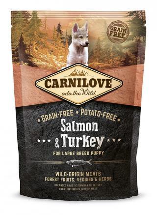 Carnilove Salmon & Turkey for LB Puppy 1,5kg