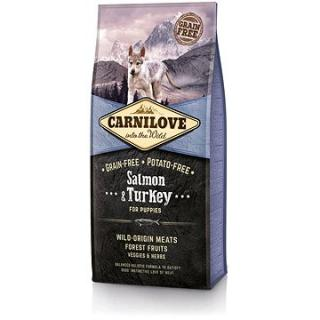 Carnilove salmon & turkey for puppy 12 kg